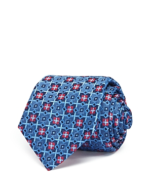 Turnbull & Asser Geometric Medallion Classic Tie