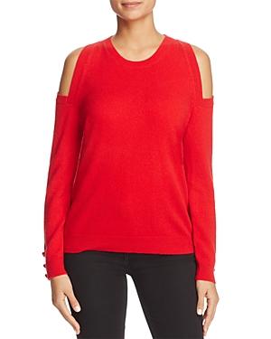 Lauren Ralph Lauren Cold Shoulder Cashmere Sweater - 100% Exclusive