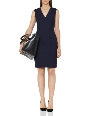 Reiss Faulkner Tailored Sheath Dress