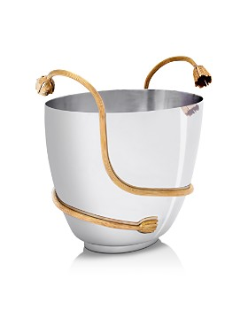 L'Objet - Deco Leaves Champagne Bucket
