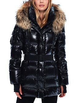 SAM. - Millennium Fur Trim Down Coat
