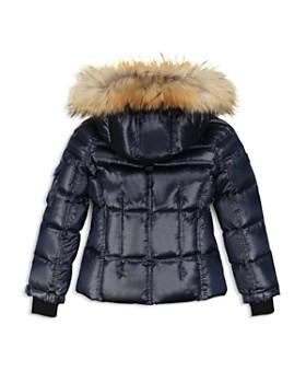 SAM. - Girls' Blake Fur-Trimmed Down Jacket - Little Kid