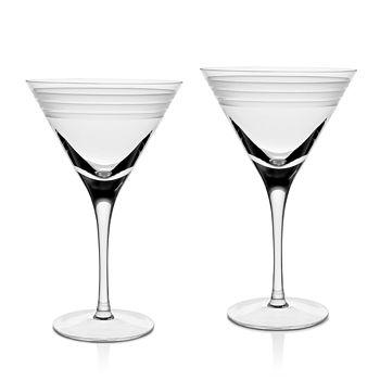 William Yeoward Crystal - Crystal Madison Martini Glass, Set of 2