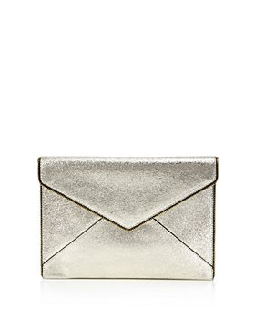 Rebecca Minkoff - Leo Crackle Leather Clutch