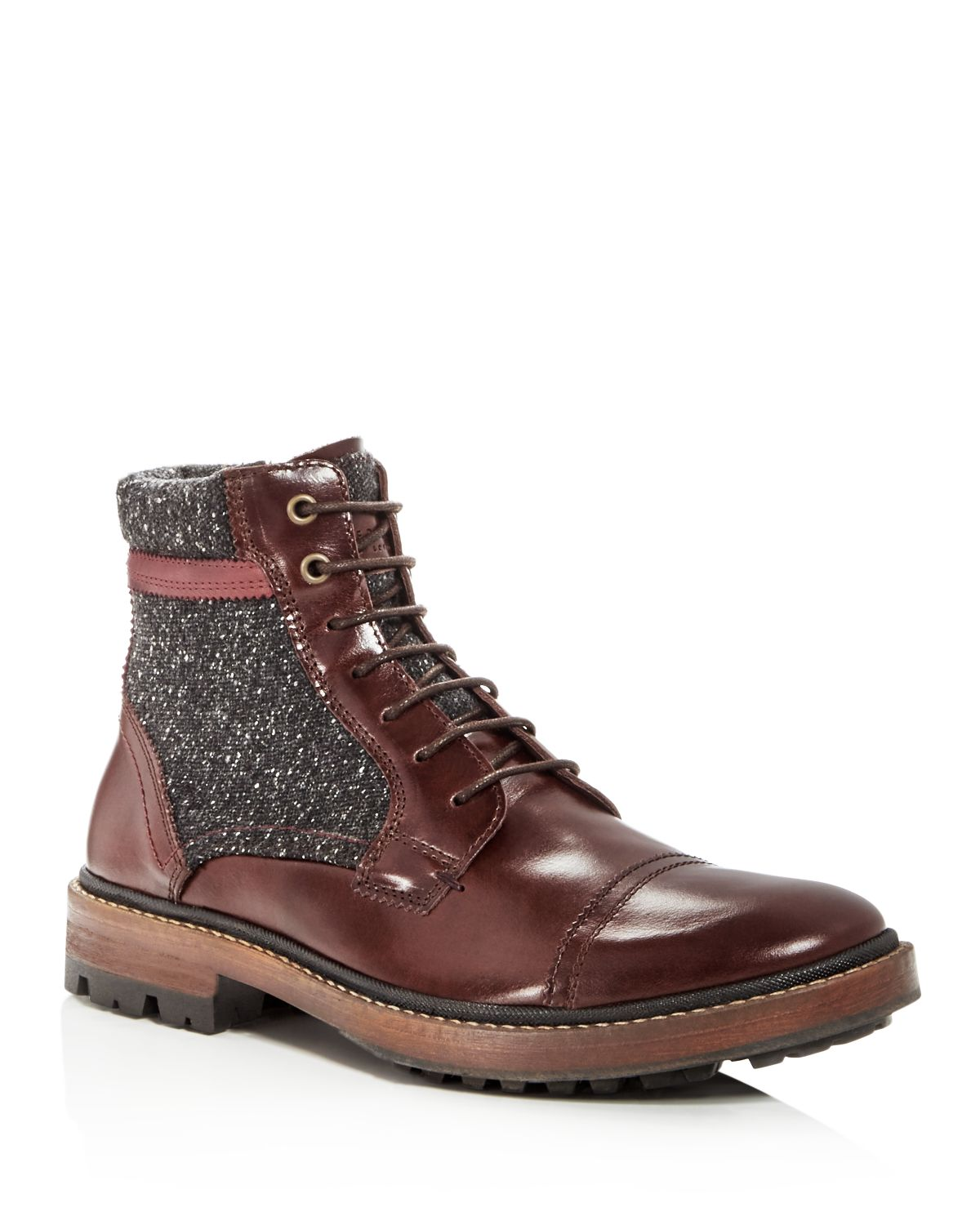 Ted Baker Men's Ruulen Leather Lace Up Boots