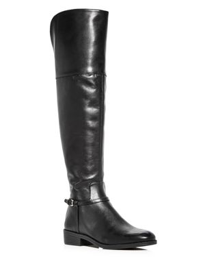 Cole Haan Women's Valentia Leather Over-the-Knee Boots 2692877