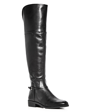 Cole Haan Women's Valentia Leather Over-the-Knee Boots