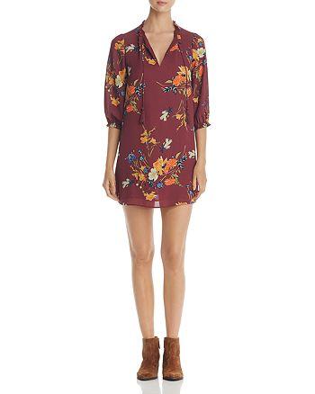 Finn & Grace - Floral Print Peasant Dress - 100% Exclusive
