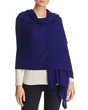 C by Bloomingdale's Solid Oversized Cashmere Wrap - 100% Exclusive