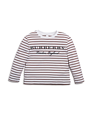 Burberry Girls Peggy Striped Tee  Little Kid Big Kid