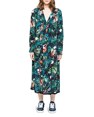 Zadig & Voltaire Roux Jungle Dress
