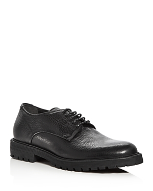 Vince Men's Bristol Leather Plain Toe Derbys
