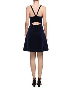 Whistles - Suzie Velvet A-Line Dress