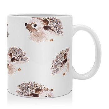 Deny Designs - Wonder Forest Happy Hedgehog Mug