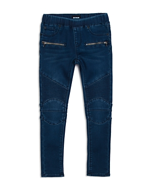 Hudson Girls' Moto Skinny Jeans - Little Kid