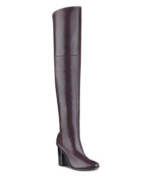 Sigerson Morrison Women's Mars Leather Over-the-Knee Boots 2669105