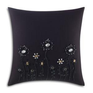 kate spade new york Beaded Blossom Decorative Pillow, 18 x 18