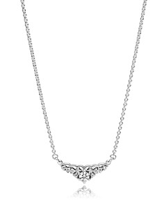 PANDORA Sterling Silver & Cubic Zirconia Fairytale Tiara Necklace - Bloomingdale's_0