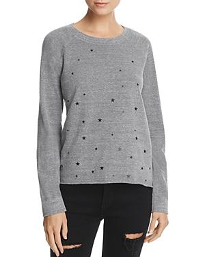 Monrow Star-Graphic Sweatshirt