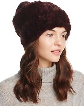 dab380fce3b Rabbit Fur Hats - Bloomingdale s