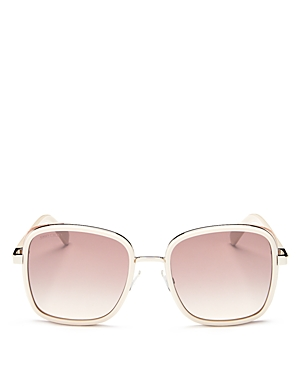 Jimmy Choo Women's Elva Mirrored Square Sunglasses, 54mm