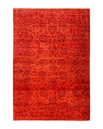 """Solo Rugs - Eclectic Area Rug, 9' x 6' 3"""""""