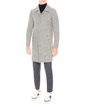 Sandro - Midnight Tweed Coat