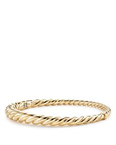 David Yurman Pure Form Cable Bracelet in 18K Gold - Bloomingdale's_0