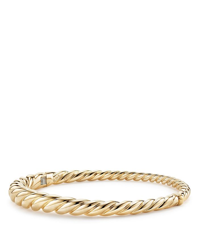 David Yurman - Pure Form Cable Bracelet in 18K Gold