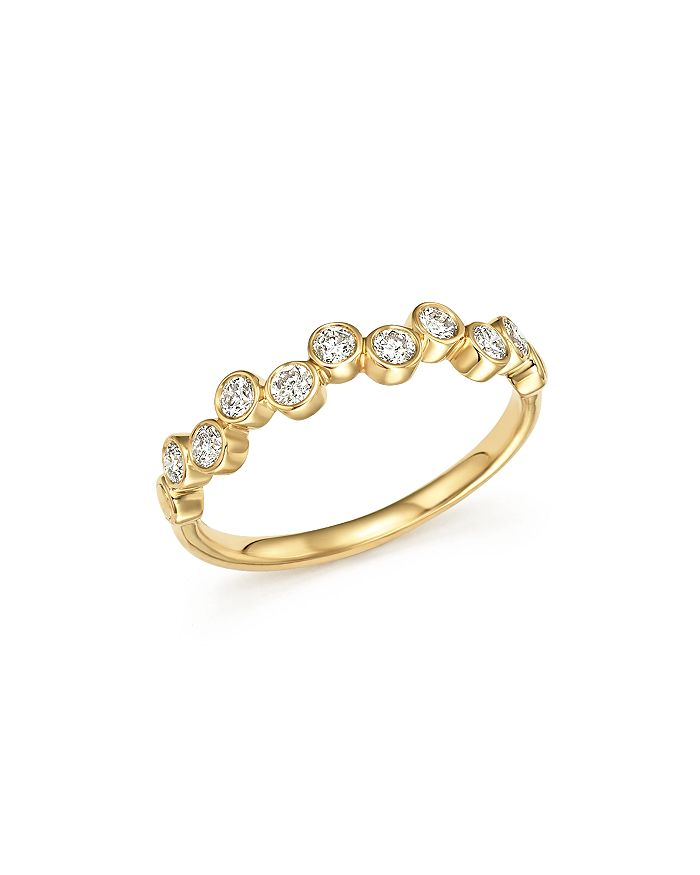Bloomingdale's - Diamond Bezel-Set Ring in 14K Yellow Gold, 0.40 ct. t.w - 100% Exclusive