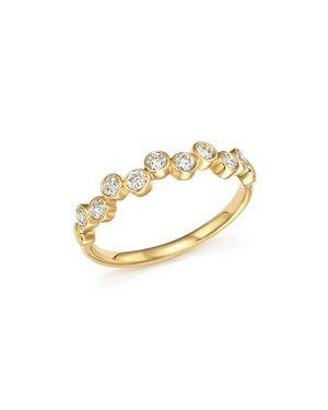 Bloomingdale's Diamond Bezel-Set Ring in 14K Yellow Gold, 0.40 ct. t.w - 100% Exclusive