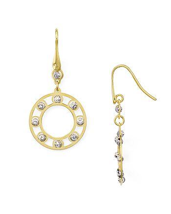 Officina Bernardi - Circle Drop Earrings