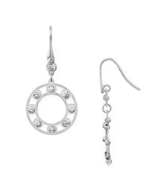 Officina Bernardi Circle Drop Earrings