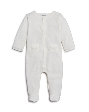 Absorba Unisex Velour Footie with Cloud Print  Baby
