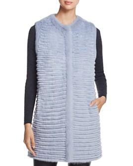 Maximilian Furs - Sheared Fur Vest - 100% Exclusive