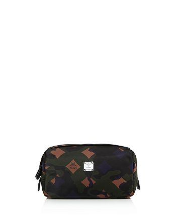 MCM - Dieter Munich Lion Camo Nylon Toiletry Kit