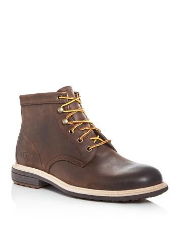 $UGG® Men's Vestmar Leather Hiking Boots - Bloomingdale's