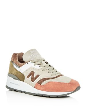 New Balance Men's M997 Lace Up Sneakers