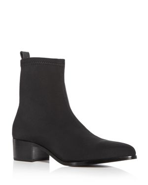 ARCHIVE Women'S Irving Neoprene Block Heel Booties in Black