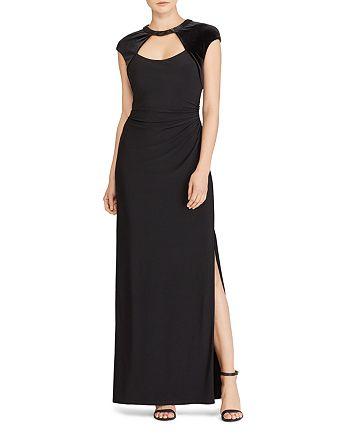 Ralph Lauren - Cutout Jersey Gown