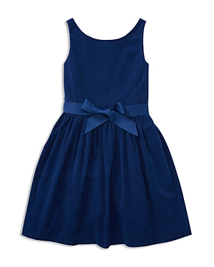 Ralph Lauren Childrenswear Girls' Corduroy Dress - Big Kid