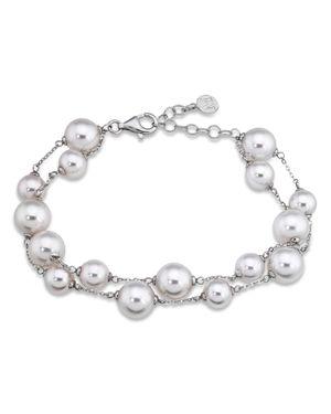 Majorica Simulated Pearl Beaded Bracelet