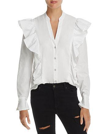 Splendid - WeWoreWhat x Bloomingdale's Ruffle Trim Shirt - 100% Exclusive