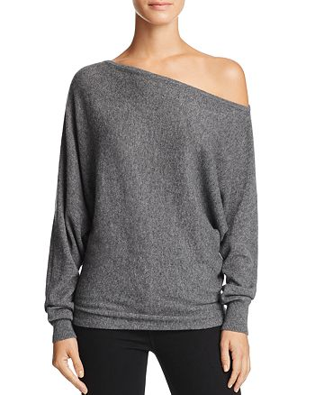 Joie - Helice One-Shoulder Cashmere Sweater