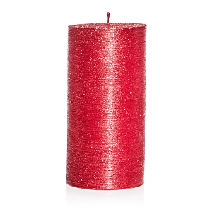 Bloomingdale's Red Glitter Wax Candle - 100% Exclusive