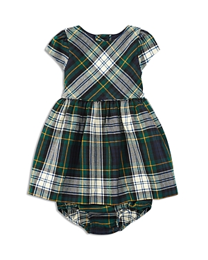 Ralph Lauren Childrenswear Girls' Plaid Dress & Bloomers Set - Baby