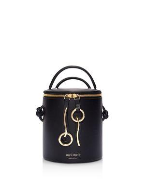 meli melo Severine Leather Bucket Bag