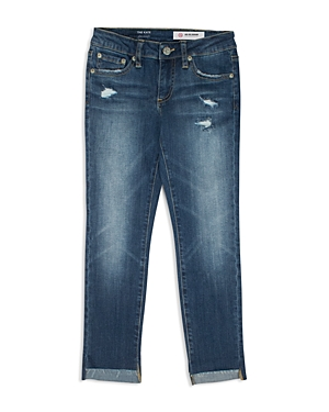 ag Adriano Goldschmied Kids Girls' High/Low Hem Straight-Leg Jeans - Big Kid
