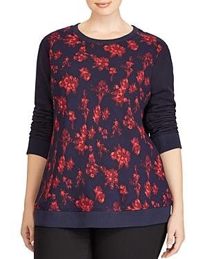Lauren Ralph Lauren Plus Floral Sweatshirt