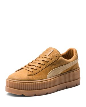 Fenty Puma x Rihanna Women's Suede Cleated Platform Sneakers